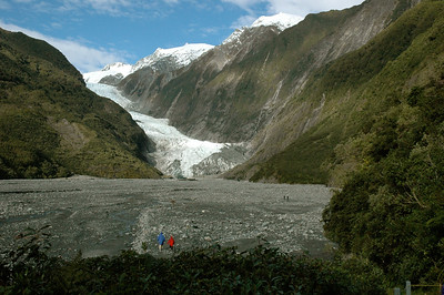 Franz Josef Glacier, New Zealand. South Island.
