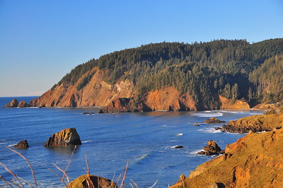 Looking north from Ecola State Park.