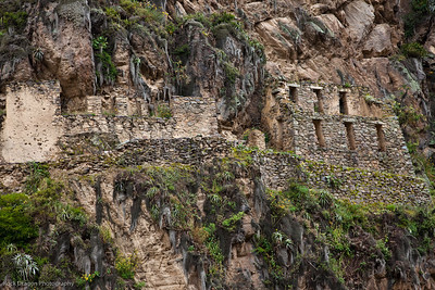 "The ""Unfinished Temple"" in Ollantaytambo, Peru."