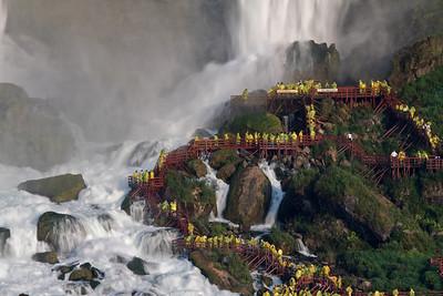 Going Behind the Falls, Niagara Falls