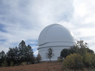 Hale Observatory at the top of Palamar Mountain