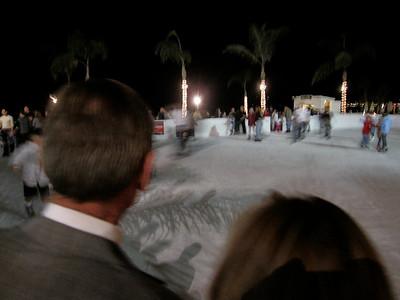 Ice skating at the Coronado