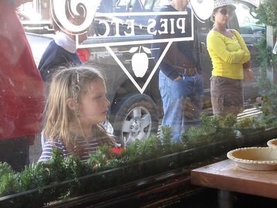 Apple pie making Julian, CA