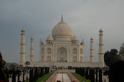 The Taj Mahal. Photo by Amy Jenkins.