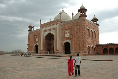 The Taj Mahal: the east building, which serves no purpose but to provide symmetry to mosque.