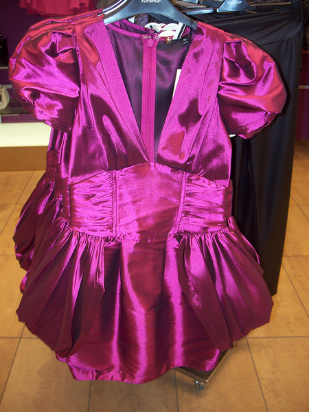 ...and seriously? What is this dress? (The crazy thing is that this one is from a completely different store).