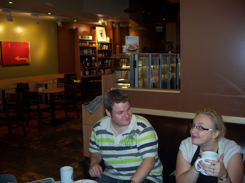 For some reason, I think the coffee at Starbucks' in the UK tastes WAY better than in America.