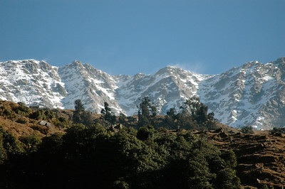 Ok, now we're seeing some real mountains![Dharamsala to Triund.]