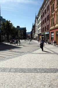 Walking through Liberec