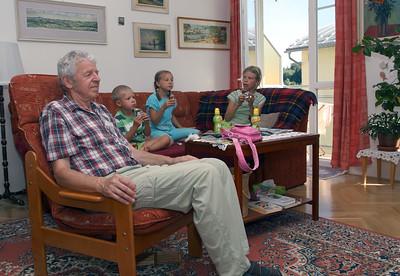 At Grandparents