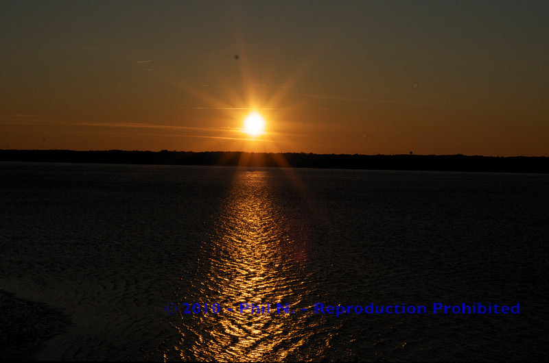 Sunset in Hilton Head, SC - from the lighthouse...