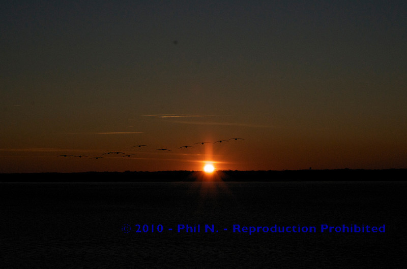 Sunset in Hilton Head, SC