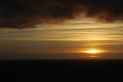 Sunset....