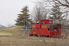 Caboose in Jamesport, Missouri<br /> A ways off the track ;o/