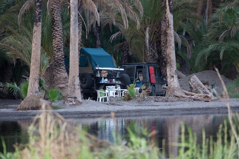 camp in at the lagoon - San Ignacio