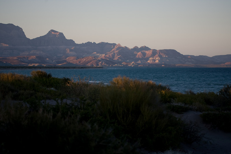 coastline north of La Paz