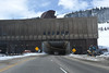 Eisenhour Tunnel located about 60 miles west of Denver on I-70 at 11,013 feet MSL