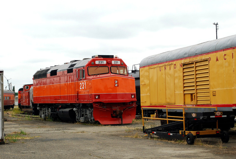 2010-07-19 OR Amtrak EMD F40 Locomotive built 1977