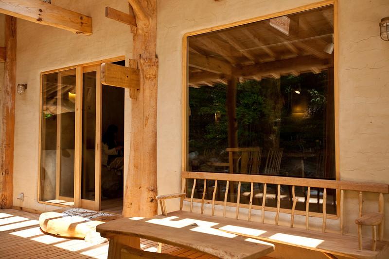 森の家 木と人カフェ