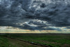 Cloud formation HDR near Limon, Colorado