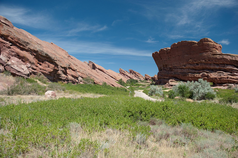 Red Rocks Amphitheatre near Morrison, CO