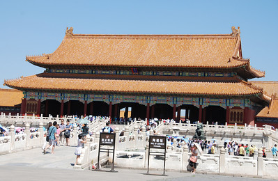 Forbidden City with 9,999 rooms is largest palace complex in the world.