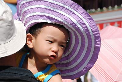 Ya gotta have a hat......