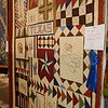 Quilt show in Fredericksburg at the airport