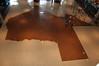 The Bob Bullock Museum lobby floor