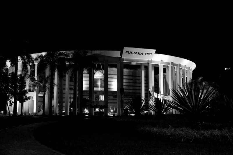 Miri Public Library, Sarawak.