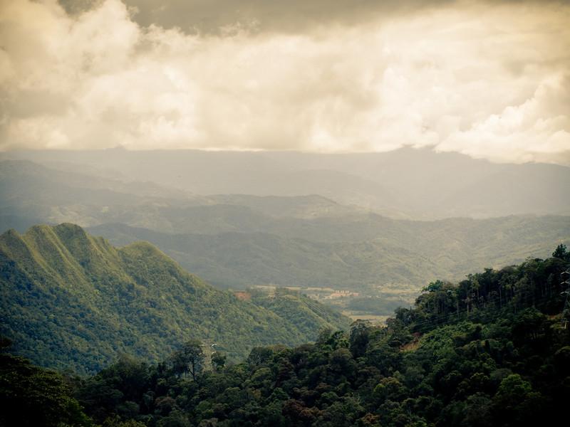 A magnificient view from Tambunan-KK road.