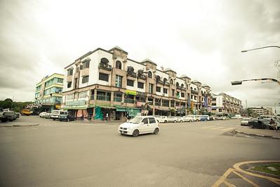 Bintulu town, Sarawak.