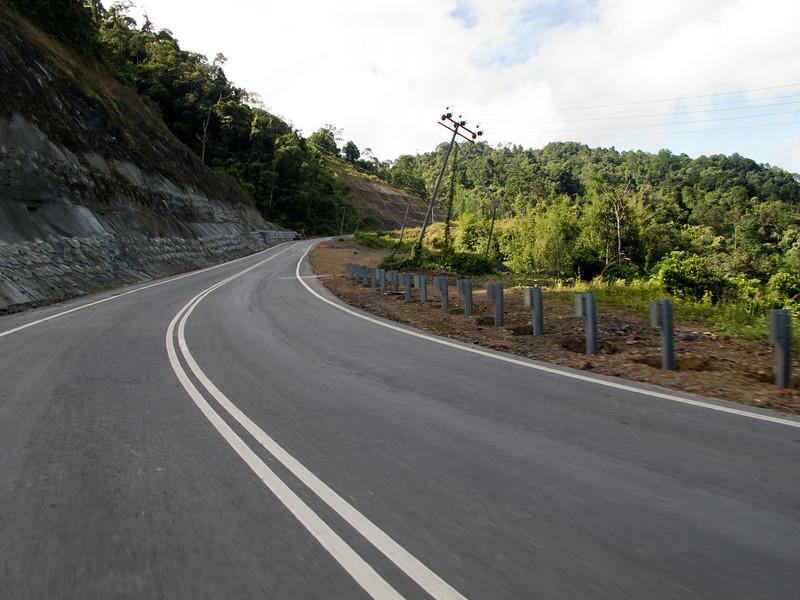 Along the Ranau-Tambunan road, Sabah.