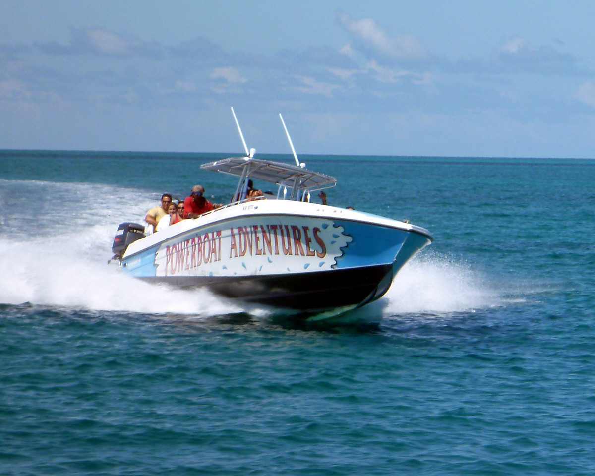 Exuma Powerboat Adventure to Ship Channel Cay.