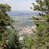 Boulder from Flagstaff Mt.