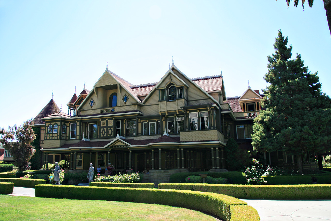 August 2, 2010 San Jose, Winchester Mystery House.