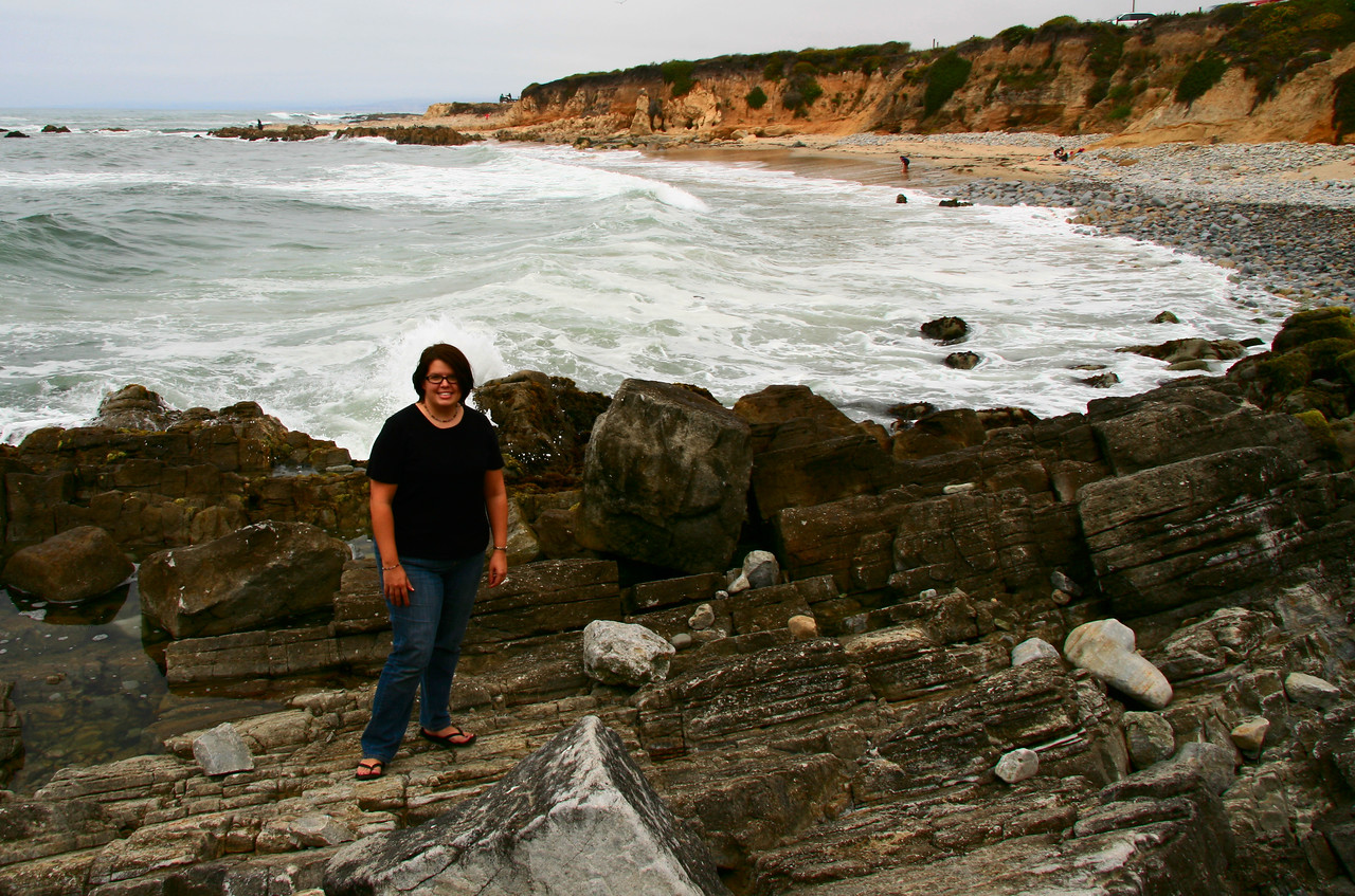 August 1, 2010 Pescadero State Park.  On occasion I will hand off the camera, most photos of me were taken by Tim.
