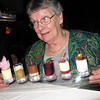 Anne was overwhelmed when presented this dessert flight in Murano, a specialty restaurant on the Equinox.