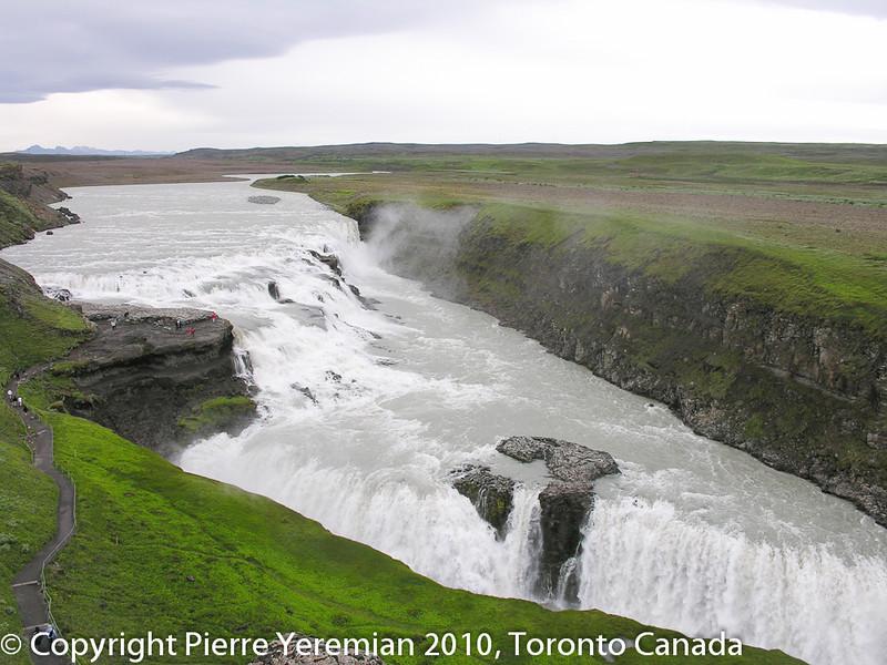 Iceland Waterfall - Gullfoss