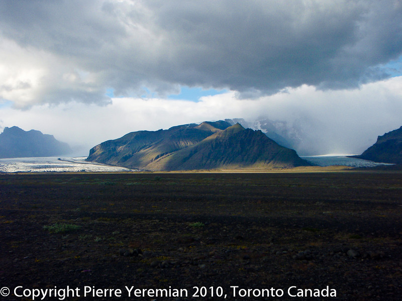 Iceland, An, overall, view, of, Skaftafell, might, be, the, Vatnajökull, glacier
