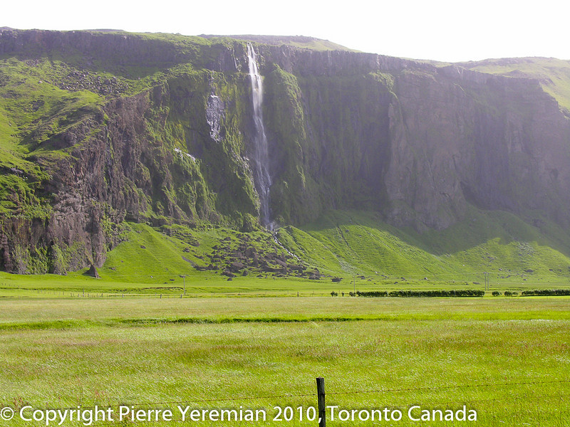 Iceland - another one of the many wonderful waterfalls on the South Shore