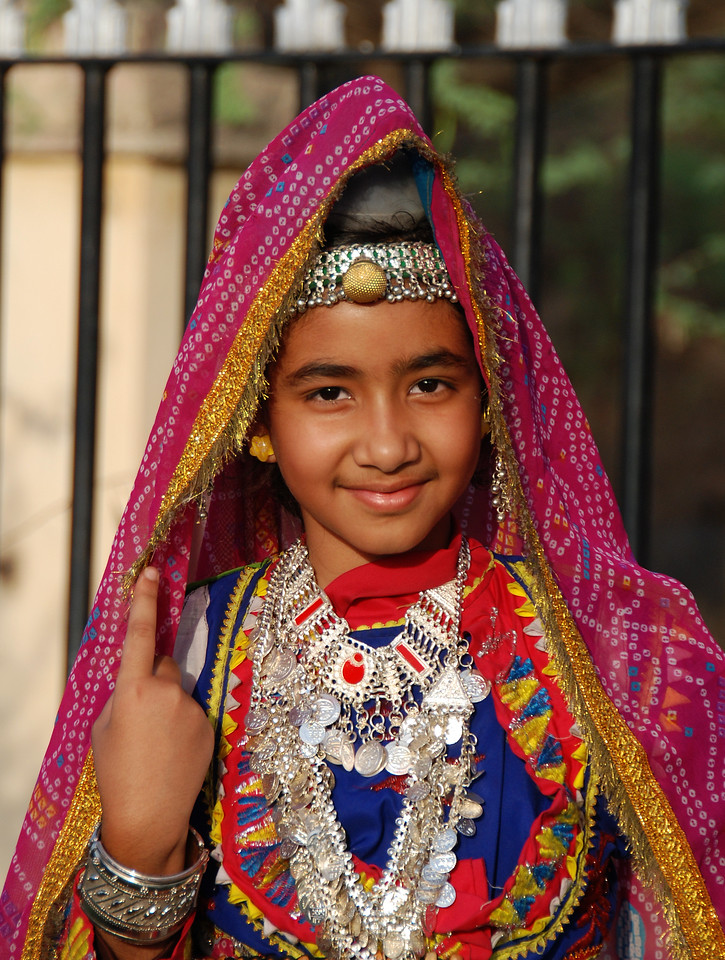 Faces of India: Birthday girl