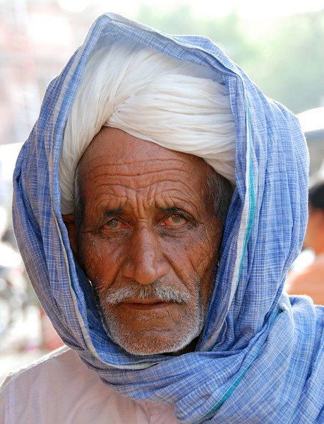 Faces of India: Serious man