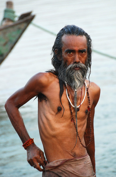 Ganges fisherman.