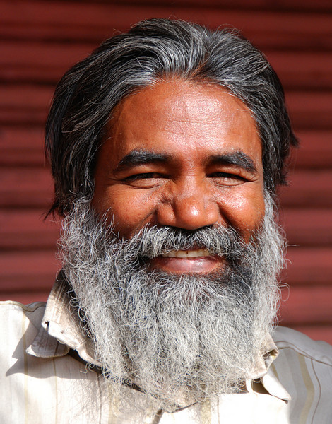 Faces of India: Smiling man