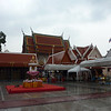 Wat Indrawiharn - one of the many many temples in Bangkok.