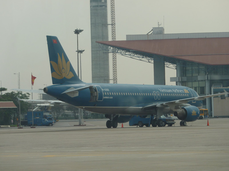 Arrived Hanoi, capital of Vietnam, by air from Vientiane.