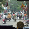 Greeting us was the millions of motorbikes, expertly handled, and seemingly flowing in a way not governed by any rules.