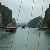 The Halong Bay.