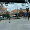 Entry to Cambodia was a lot faster.   From here another bus will take us to Phnom Penh (another 4 hrs ride)
